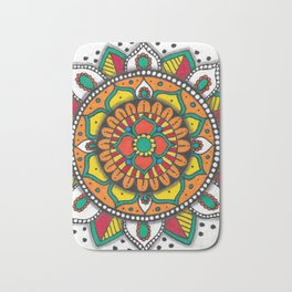 Colorful Mandala #1 Bath Mat