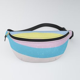 Rainbow Swirl Heart Fanny Pack