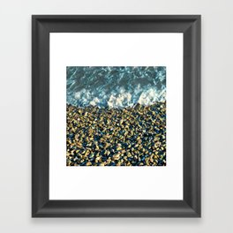 Stone Beach #2 Framed Art Print