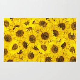 Lots of sunflowers Rug