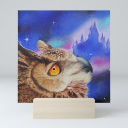 Dreaming of the Owlery Mini Art Print
