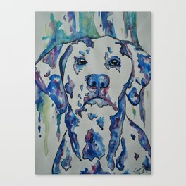 Painting Spots Canvas Print