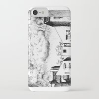 buildings iPhone & iPod Cases featuring Buildings by Giuseppe Vassallo