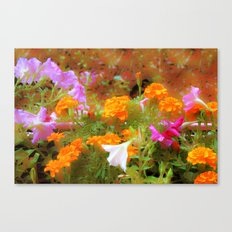 Every little garden seems to whisper a tune Canvas Print