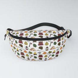Autum Camping Fanny Pack