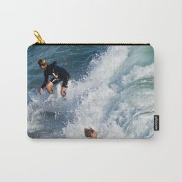 Sports Wipe Out Surf City USA Carry-All Pouch