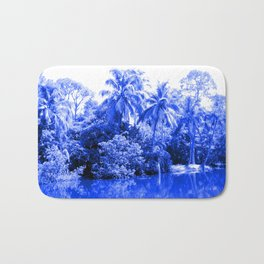 Florida in Blue Bath Mat