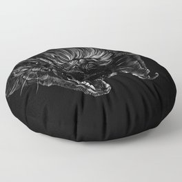 Brown Bat Floor Pillow