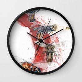 GUN SHOT ONE SHOT Wall Clock