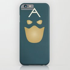Minimalist Captain America Slim Case iPhone 6s