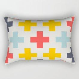 Retro Cross Heaven Rectangular Pillow
