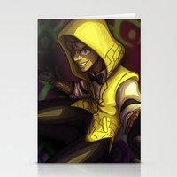 bill cipher Stationery Cards featuring Human Bill Cipher by NMLove