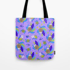Picnic Pals bouquet in blueberry Tote Bag