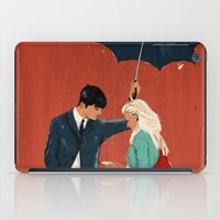 broadway iPad Cases featuring Broadway Bus Stop by Stephan Parylak