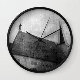 D. du Maurier Wall Clock