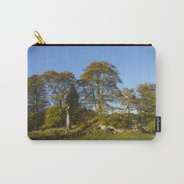 Autumnal trees in Grasmere. Lake Distirct, UK. Carry-All Pouch