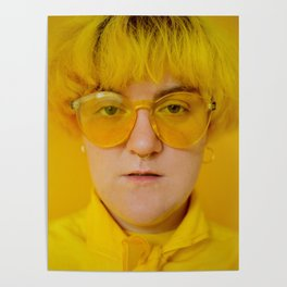 Jo in yellow Poster