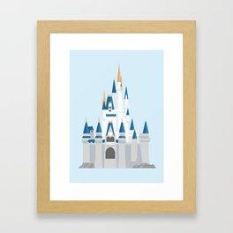 Cinderella's Castle Framed Art Print