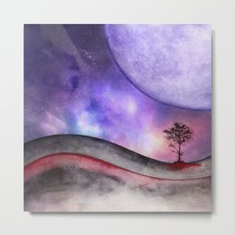 Lone tree 02 Metal Print