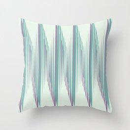 Zig Up, Zig Down Throw Pillow