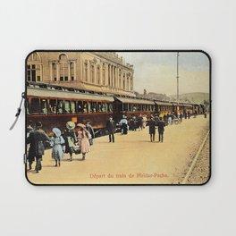 1900s Haydarpasa railroad station, train Laptop Sleeve
