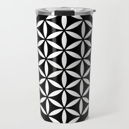 Flower of Life Yin Yang Travel Mug