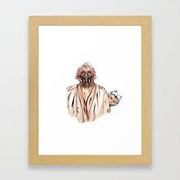 Plo&Ahsoka Framed Art Print