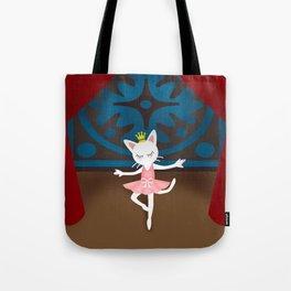 Ballet Cat Tote Bag