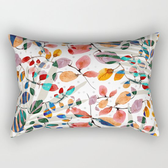 Plants abstratc Rectangular Pillow