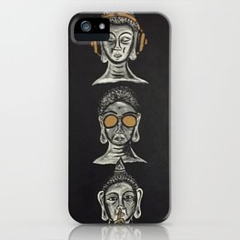 THE THREE WISE BUDDHAS iPhone Case