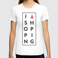 shopping T-shirts featuring shopping by Peter Roquemore