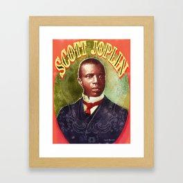 Scott Joplin Framed Art Print
