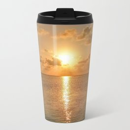 San Pedro Sunset Metal Travel Mug