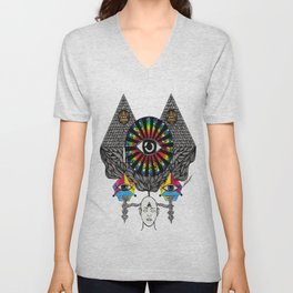 MY THIRD EYE Unisex V-Neck