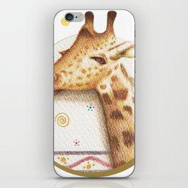 Jirafa-ntástica iPhone Skin