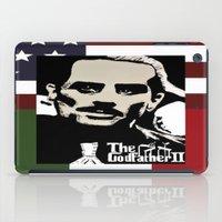 the godfather iPad Cases featuring Robert De Niro Godfather II  by jt7art&design