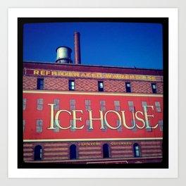 The Icehouse Art Print