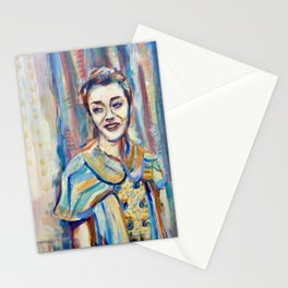 Smile Girl Stationery Cards