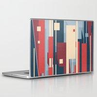 metropolis Laptop & iPad Skins featuring Metropolis by Tracie Andrews