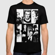 Cushing Horrors SMALL Black Mens Fitted Tee