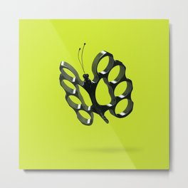 Fly like a butterfly, sting like a bee Metal Print