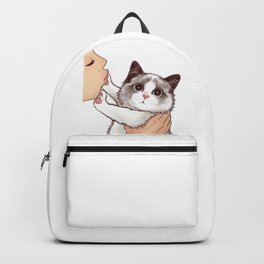 Cat : Don't kiss Backpack