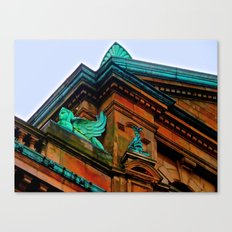 What's Your Angle? Canvas Print