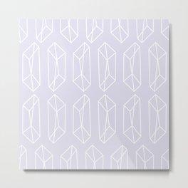 Almost Geometric Jewels Pattern 2 - 1 Metal Print