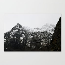 Swiss Alps - v3 Canvas Print