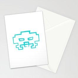 Invader !!   retrogaming nemesis Stationery Cards