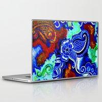hawaii Laptop & iPad Skins featuring Hawaii by KASZANDRA