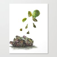 brussels Canvas Prints featuring Brussels by Evelina Knodel