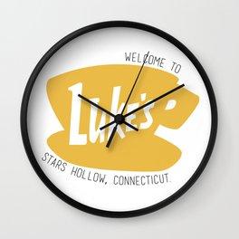 Lukes Diner Wall Clock