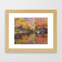 Peaceful Pleasure Framed Art Print
